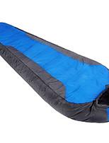 Hollow Cotton Nylon Taffeta Lining Single Mummy Bag for Camping and Hiking