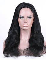 Indian Remy human hair 8-26inches Natural Natural Wave Side Part full or lace front Celebrity Style Wigs for Women