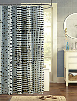 Modern Rectangle Shower Curtains 71x72inch,71x79inch