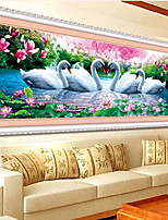 DIY 5D Swan Eternal Love Round  Painting Cross Stitch Kits Soulmate Diamond Mosaic Home Decor Diamonds Embroidery
