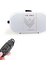 2016 scatola vr 2.0 realtà virtuale del controller di dialogo occhiali 3d + bluetooth per 4 ~ 6 telefoni