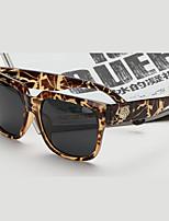 Sunglasses Unisex's Fashion 100% UV400 Square Tortoiseshell Sunglasses Full-Rim