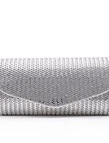L.WEST® Women's Handmade High-grade Shiny Diamonds Envelope Package Party/Evening Bag