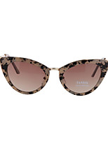 Sunglasses Women's Fashion 100% UV400 Cat-eye Tortoiseshell Sunglasses Full-Rim