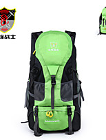Backpack Camping & Hiking Waterproof / Rain-Proof / Dust Proof / Multifunctional 50 L Terylene / 600D