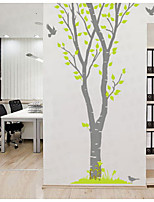 Animals Bird Wall Decal Botanical / Landscape Wall Stickers Plane Wall Stickers,PVC 150*223cm