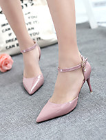 Women's Shoes Stiletto Heel Heels / Pointed Toe / Closed Toe Sandals Dress Pink / Purple / Red / White