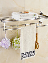 60cm Contemporary Stainless Steel Mirror Polished Wall Mounted Towel Warmer