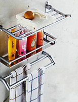 50cm Contemporary Stainless Steel Chrome Wall Mounted Towel Warmer