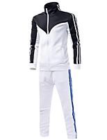 Herren Freizeit Activewear Sets - Einfarbig Lang Polyester