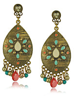 Drop Earrings Women's Alloy / Acrylic Earring Rhinestone