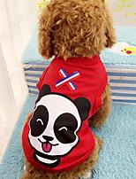 Cães Casacos Vermelho / Azul / Amarelo / Laranja Inverno / Verão / Primavera/Outono Clássico / Animal Fashion-Lovoyager
