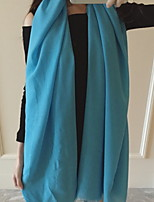 Pure Color Tie-dye New Winter Chiffon Bag Scarf Shawl