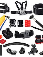 27 Accessoires GoPro Accessoires Kit PourGopro Hero 1 / Gopro Hero 2 / Gopro Hero 3 / Gopro Hero 3+ / Gopro 3/2/1 / Tous / SJ5000 /