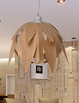 12W Vintage LED Creative Home Cage Bird Bamboo Chandeliers Living Room / Bedroom