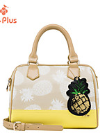 M.Plus® Women's Fashion Print PU Leather Messenger Shoulder Bag/Tote