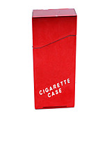 Male Exquisite Decorative Surface Metal Cigarette Case 20 Ms
