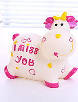 Lovely Cow Evade Glue Piggy Bank Creative Home Furnishing Articles Present