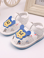 Baby Shoes Dress / Casual Leather Fashion Sneakers Yellow / Pink / White