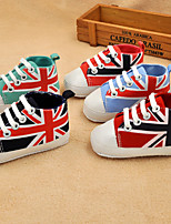 Baby Shoes Outdoor / Casual Canvas Fashion Sneakers Blue / Green / Red / Royal Blue / Coral