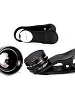 illimon® M15 + m60 téléphone lentille 150 ° cpl de + super grand + 20 × macro / 2 × téléphone + parasoleil ensemble