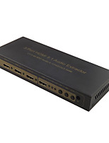 Newest 3 Port HDMI 5.1 Audio Extractor 4K Switcher 3x1 with ARC Audio EDID Setting 5.1CH/2CH