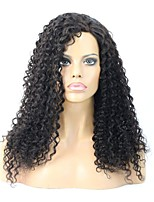 Virgin Malaysian Human Hair Heavy Density Deep Wave Natural Color Full Lace wig