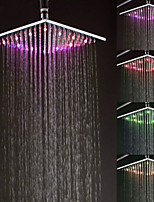 Colorful Color light Shower Nozzle Top Spray Shower Nozzle(10 Inch)