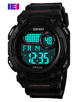 Sports Watch Men's / Kids' / Unisex LCD / Calendar / Chronograph / Water Resistant / Dual Time Zones / Sport Watch Digital Digital