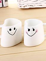 2pcs300ml modélisation de l'amour korean tasse en céramique couple de tasses de café