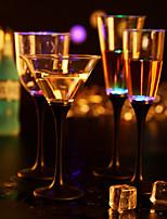 bar restaurant nuit KTV coloré couleur flash lumineux induction de lumière tasse en verre d'eau