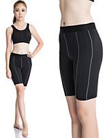 Women Yoga Sports Pants Elastic Wicking Tights Female Sports Elastic Fitness Running Short Trousers Slim Leggings