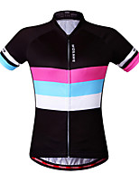WOSAWE Women QuickDry Cycling Jersey Outdoor Sports Bicicleta Jacket Short Sleeve Shirt Ropa Ciclismo Clothing
