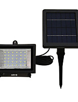 HRY® 30 LED White/Warm/Green Color Outdoor Security Light Solar Floodlight Landscape lamp for Lawn and Garden