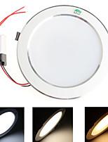 12W Plafonniers 48 SMD 5730 1020 lm Blanc Chaud / Blanc Froid / Blanc Naturel Décorative AC 85-265 V 1 pièce