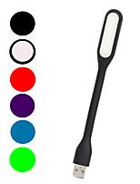 mlsled® lumière blanche créative usb 80lm conduit lampe de table petit écran d'ordinateur de lumière de nuit domestique légère (couleurs