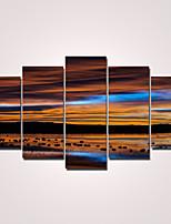 Moderni Canvas Tulosta 5 paneeli Valmis Hang,Horizontal
