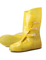 Women's Shoes Rubber Low Heel Rain Boots Boots Outdoor Black / Blue / Yellow