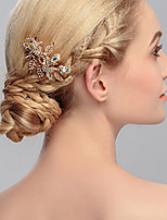 Women's Rhinestone Headpiece-Wedding / Special Occasion / Casual / Office & Career / Outdoor Hair Combs 1 Piece