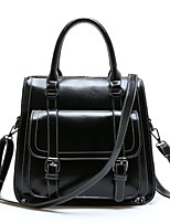Women Sports / Casual / Outdoor / Shopping PU / Patent Leather Zipper Backpack
