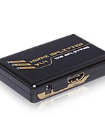 Premium HDMI Mini Splitter  1X2  V1.4 4Kx2K Full 3D CEC HDCP Supported with CE FCC RoSH Certificates