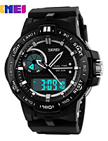 Sports Watch Men's / Ladies' / Kids' / Couple's / Unisex LCD / Calendar / Chronograph / Water Resistant / Dual Time Zones / Sport Watch