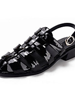 Women's Shoes    Chunky Heel Heels / Open Toe Sandals Outdoor / Casual Black / Gray