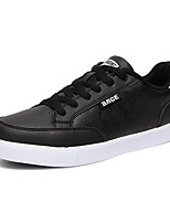 Men's Shoes Outdoor / Athletic / Casual Leatherette Fashion Sneakers / Athletic Shoes Black / Blue / Red / White