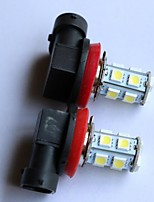 H1/H3/880/881 5050-9SMD Car Tail Fog Light White Blue Red Yellow