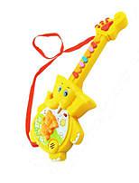 Elephant Shape Music Toy Plastic Red / Yellow