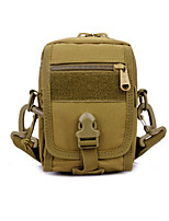 Functional Waist Pack Mens Shoulder Crossbody Bag 3P Attack Army Durable Travel Hiking Camping Fly Fishing