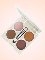 Only-You Long Lasting 4colors Eye Shadow with Brush
