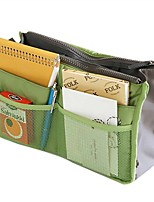Packing OrganizerForTravel Storage / Toiletries Cotton Grey / Blue / Green / Pink / Burgundy / Orange 29x18x2