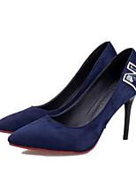Chaussures Femme-Soirée & Evénement-Noir / Bleu / Bordeaux-Talon Aiguille-Talons-Talons-Laine synthétique